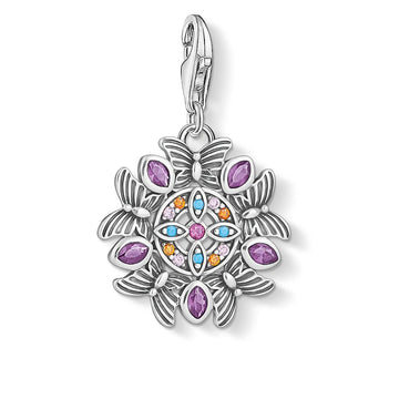 CHARM CLUB AMULET KALEIDOSCOPE BUTTERFLY PENDANT