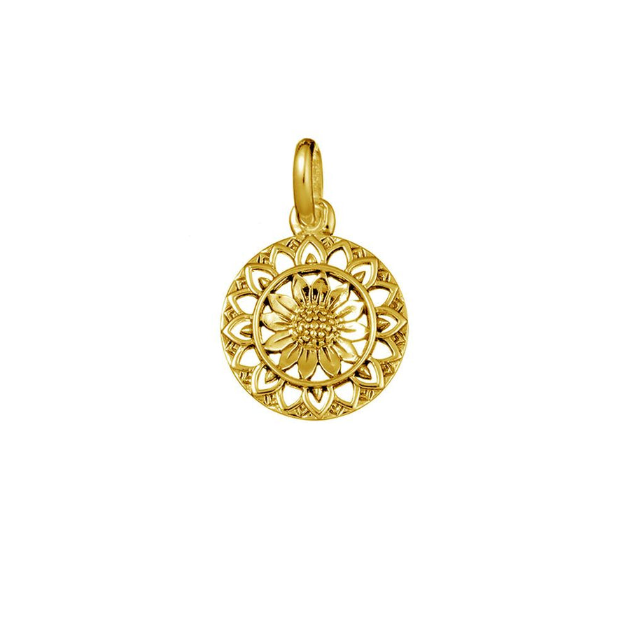 SUNFLOWER MANTRA CHARM