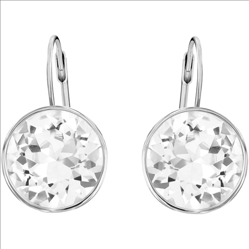 BELLA CLEAR DROP HOOK EARRINGS