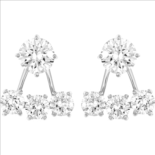 SWAROVSKI ATTRACT EARRINGS