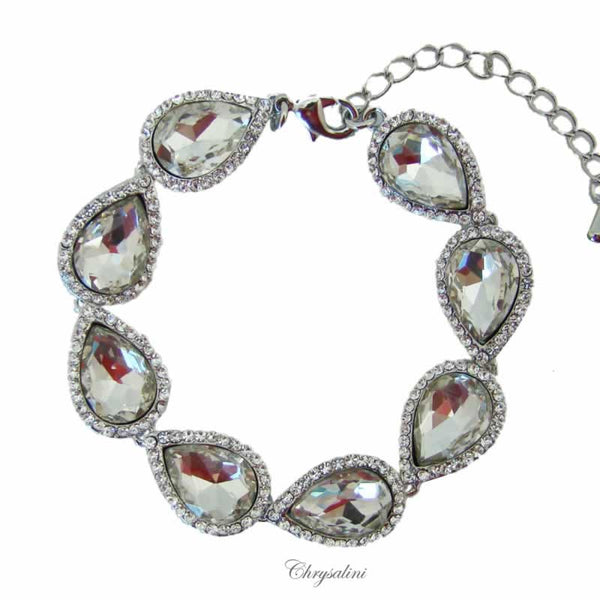 CHRYSALINI CLEAR CRYSTAL BRACELET