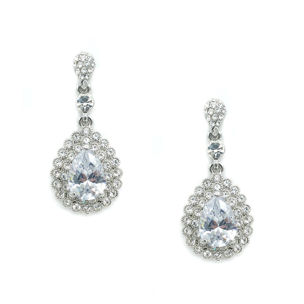 CHRYSALINI TEAR DROP EARRINGS