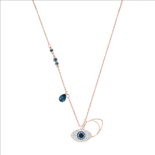 DUO EVIL EYE NECKLACE