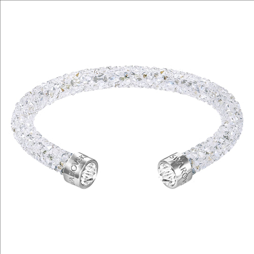 SWARVOSKI CRYSTALDUST LARGE CUFF BANGLE