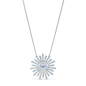 SUNSHINE NECKLACE BLUE