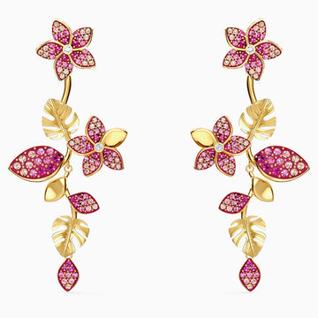 TROPICAL FLOWER EARRINGS