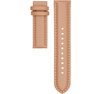 STITCHED NUDE LEATHER 20MM STRAP