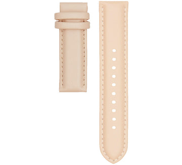 STITCHED PEACH LEATHER 20MM STRAP