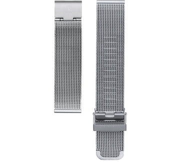 SILVER MESH 20MM WATCH BAND