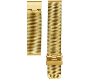 GOLD MESH 20MM WATCH BAND