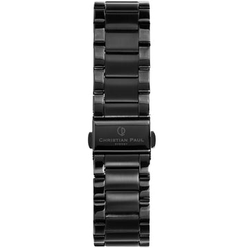 BLACK LINK 20MM WATCH BAND