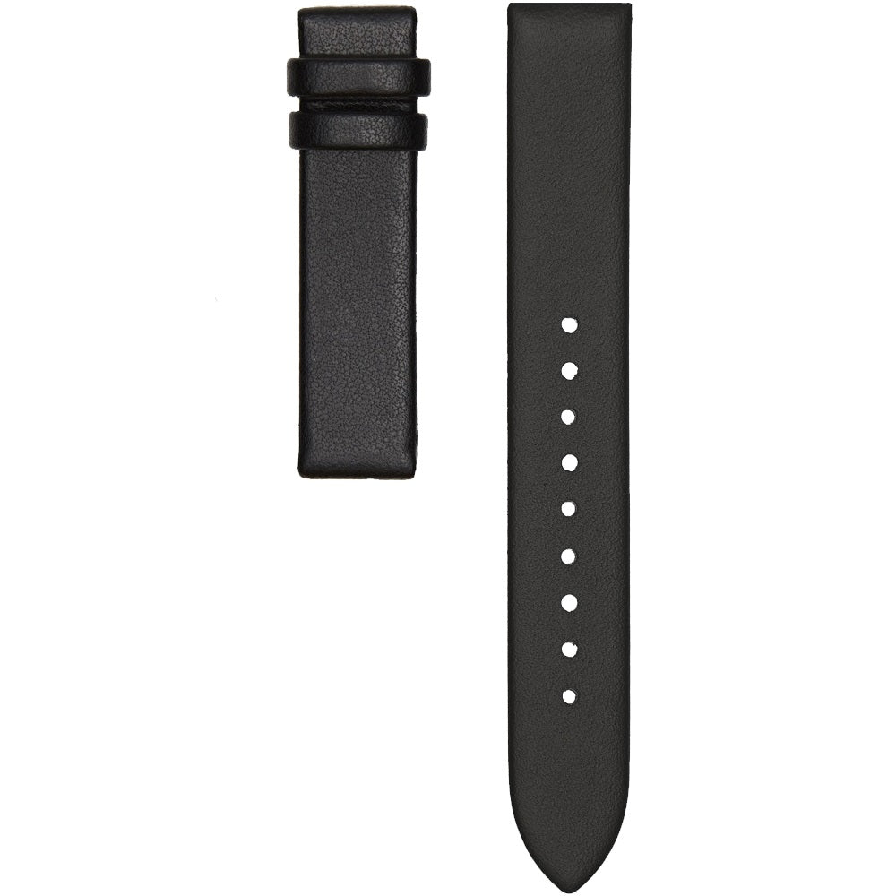 CHRISTIAN PAUL BLACK LEATHER 16MM STRAP