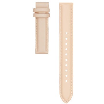 STITCHED PEACH LEATHER 16MM STRAP