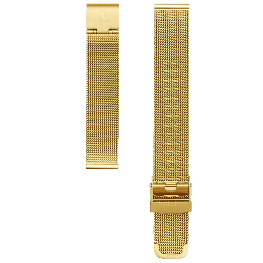 GOLD MESH 16MM WATCH BAND
