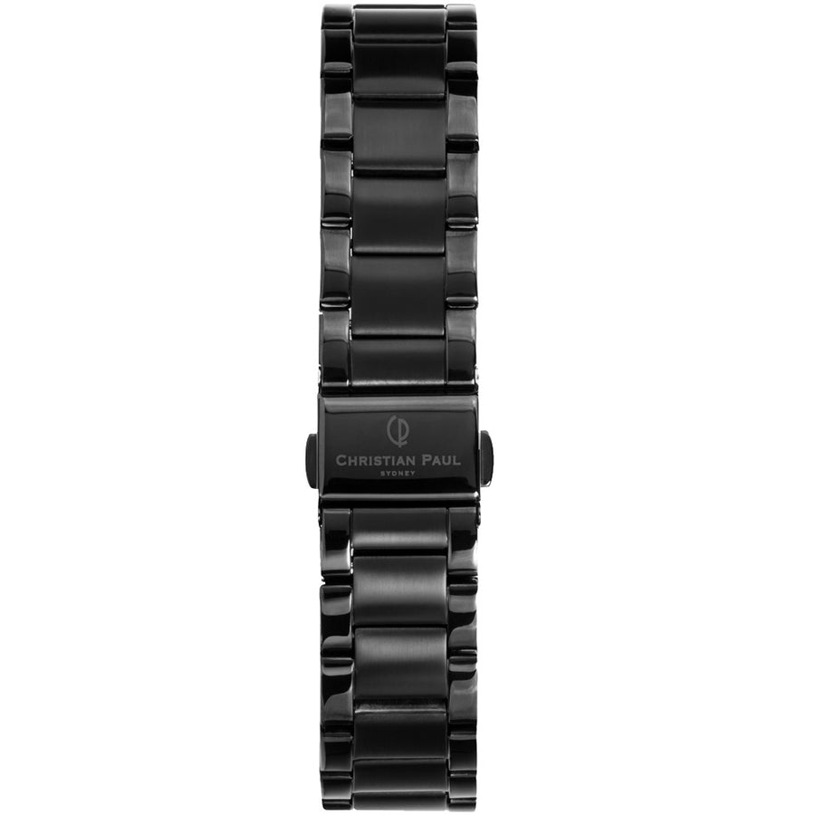 BLACK LINK 16MM WATCH BAND