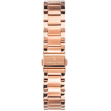 ROSE GOLD LINK 16MM WATCH BAND