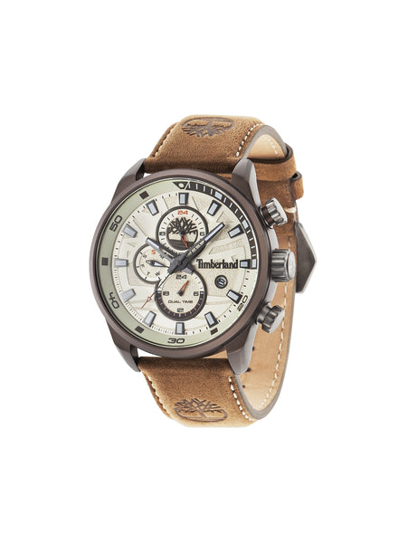 TIMBERLAND HENNIKER II GUN/BEIGE | BROWN WATCH