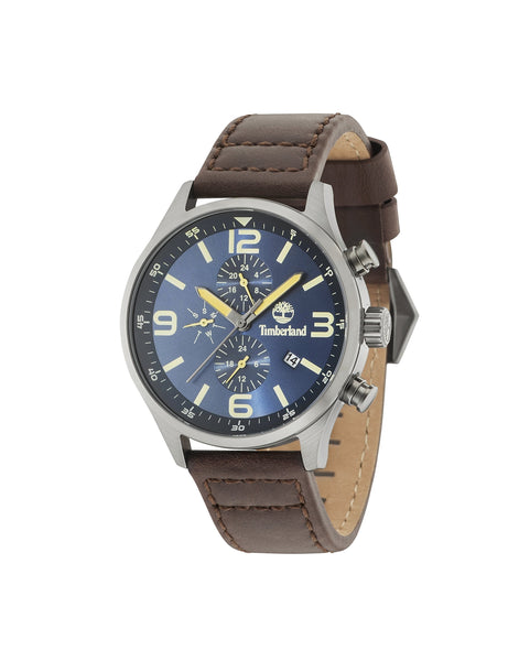 TIMBERLAND ROWLEY GUN/BLUE | BROWN WATCH