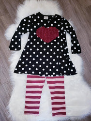 Ruffle Heart Set