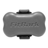 FitBark Dog Activity Monitor, Rockstar Gray