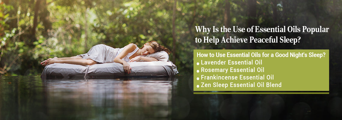 Which Essential Oils Are Best for Restful Sleep?