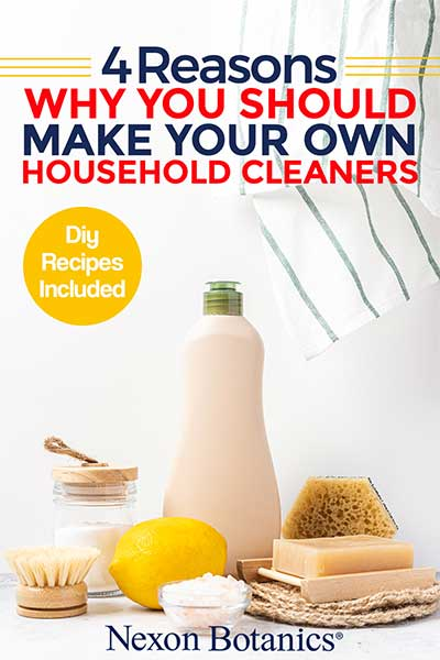 4 Reasons to Make Your Own Cleaning Supplies and DIY recipes included