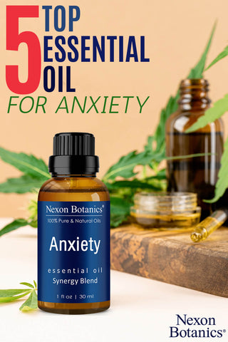 5 top essential oil blends for anxiety