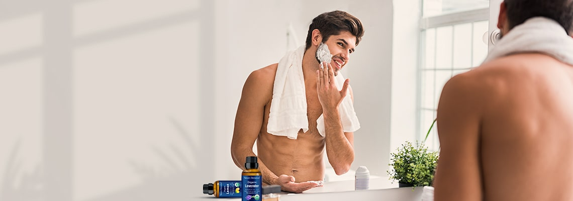 organic after shave essential oils gifts on Fathers Day