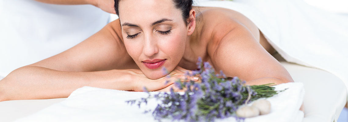 Massage Away Bodily Discomfort - Lavender oil