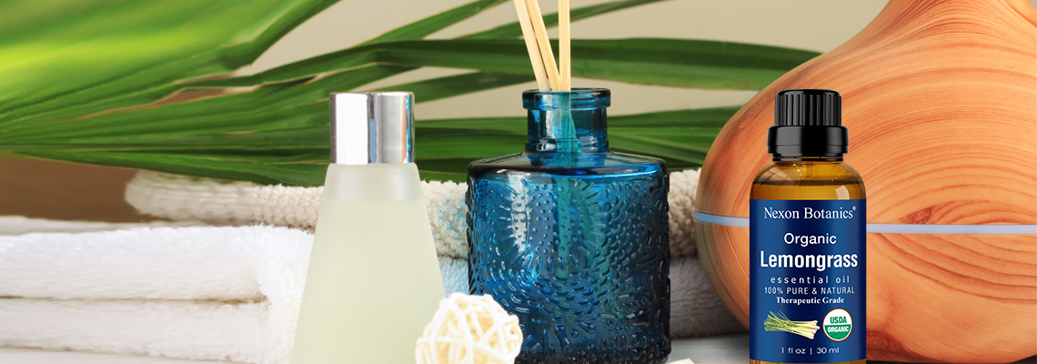 How to Naturally Deodorize small spaces - organic lemongrass oil - NB