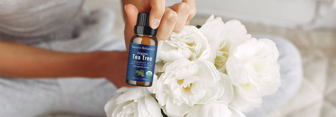 Natural Homemade Floor Cleaner With Essential Oils-tea tree oil
