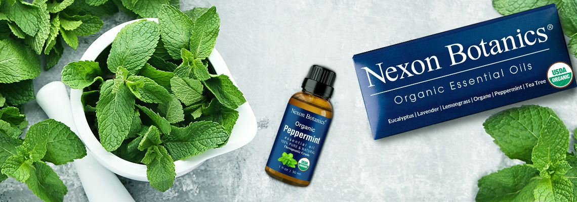 organic peppermint essential  oil favorites for the new mom