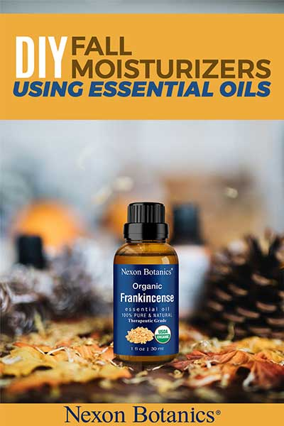 how to diy fall moisturizer with essential oils