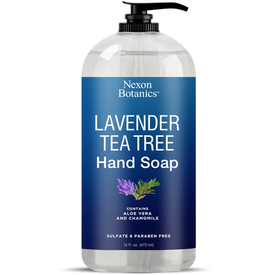 Lavender Tea Tee Hand Soap