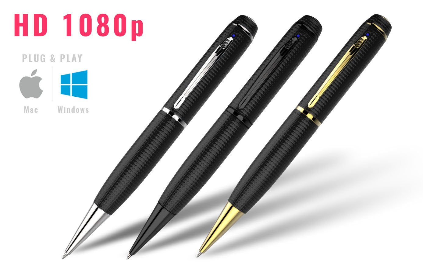 iSpyPen Pro: #1 Spy Pen High Performance HD Camera