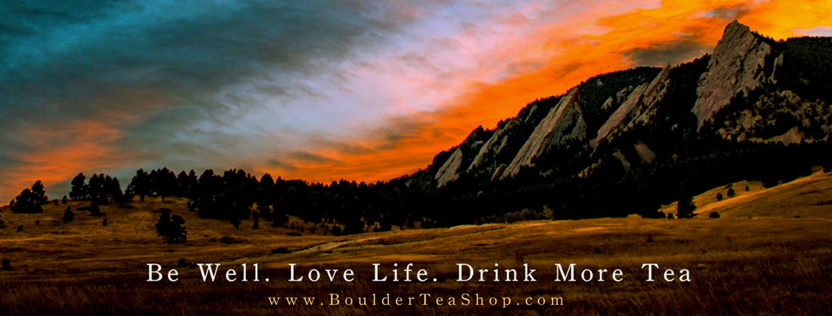 Drink More Tea Banner - Mountain Tea - Boulder Tea Shop