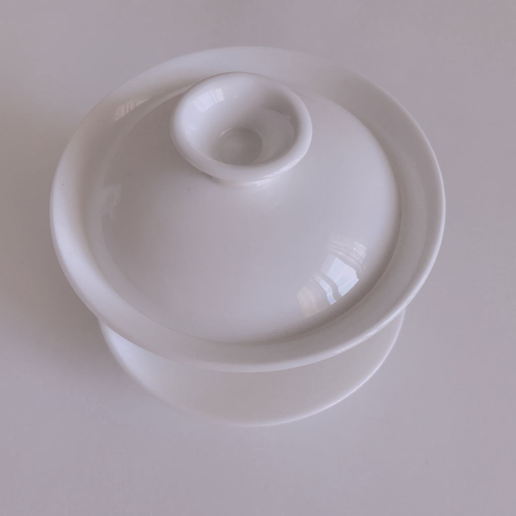 Snow White Gaiwan - Boulder Tea Shop