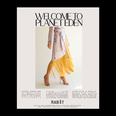 — Rabôt Welcome's You to Planet Eden
