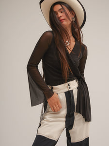 Luisa Top in Black