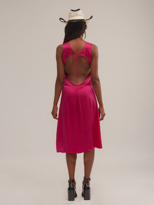 Ramblas Dress in Flamingo [Pre-Order]