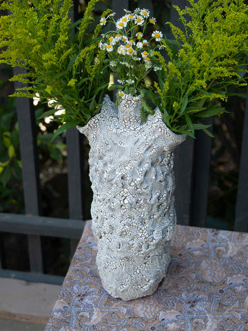 Crackle Vase by Amelia Lockwood