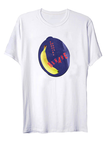 Unisex Fruit Tee in Banane