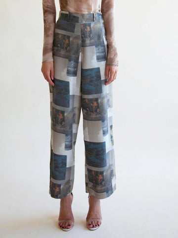 Photoreal printed pant