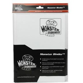 Binder: 9pkt Monster Matte Wh