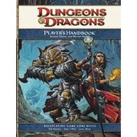 Dungeons and Dragons RPG: 4E Players Handbook Hardcover