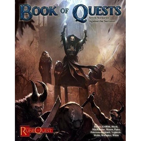 RuneQuest RPG: Book of Quests