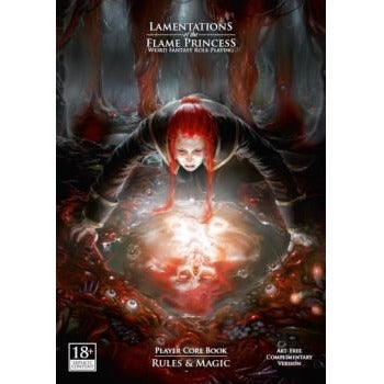 Lamentations of the Flame Princess RPG: Core Rules Hardcover