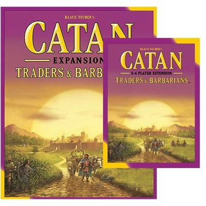 Catan Bundle: Traders and Barbarians Plus 5-6 Player Expansion