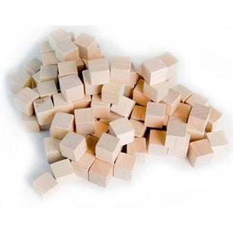 10mm Wooden Cube Tokens (100)