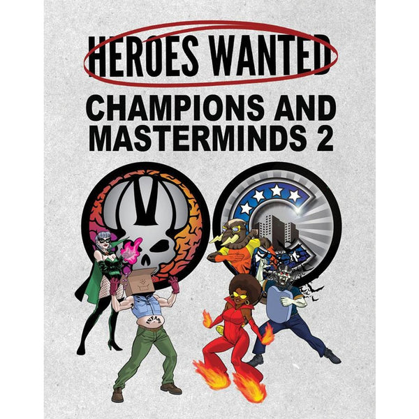 Heroes Wanted: Champions and Masterminds 2 Expansion